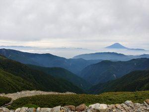 2018年6月23日 北岳山荘からの景色