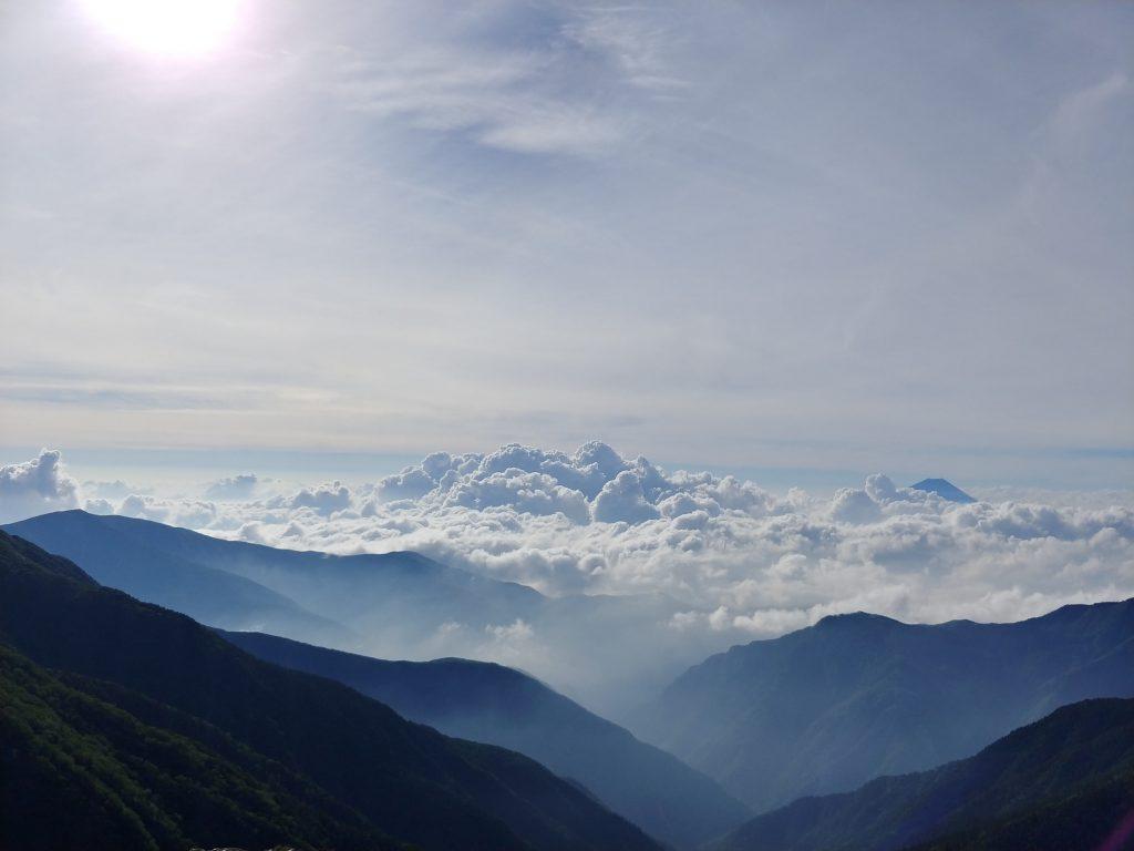 モコモコ雲