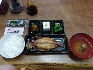 広河原山荘の朝食
