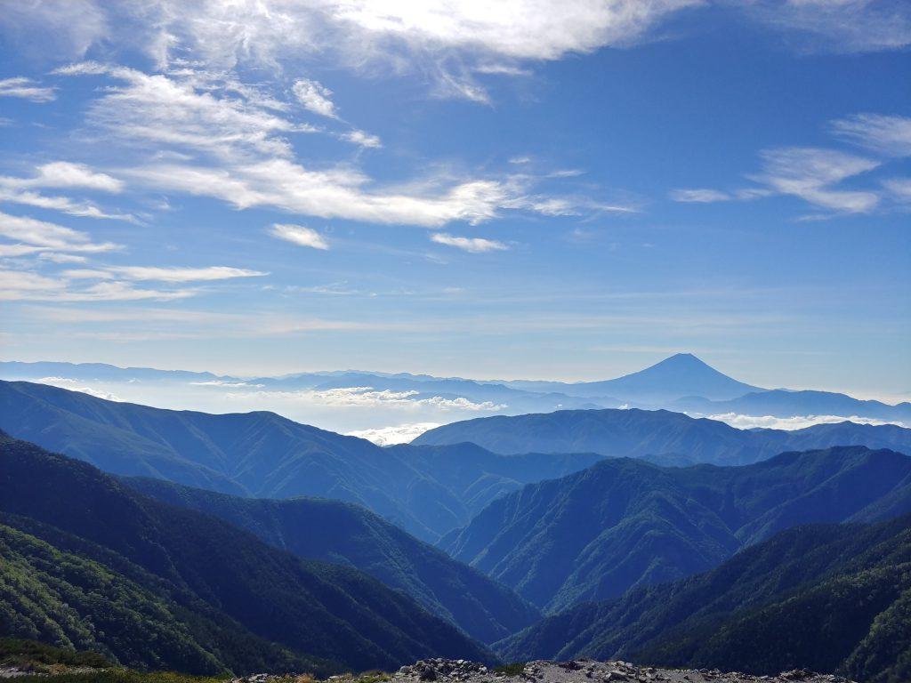 富士山もクッキリ🗻✨