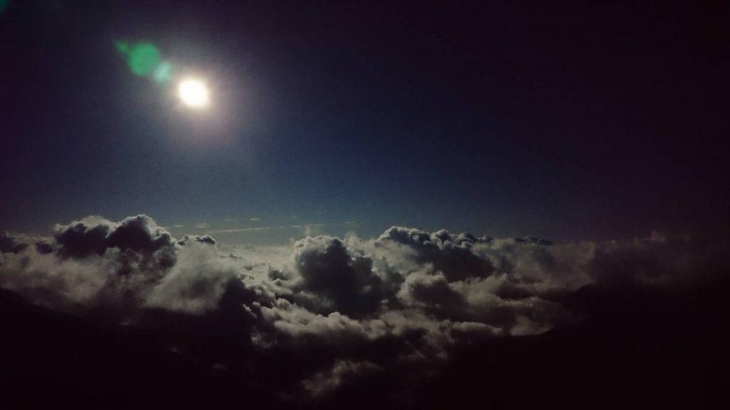 昨夜の月🌕✨ ほぼ満月🌕✨