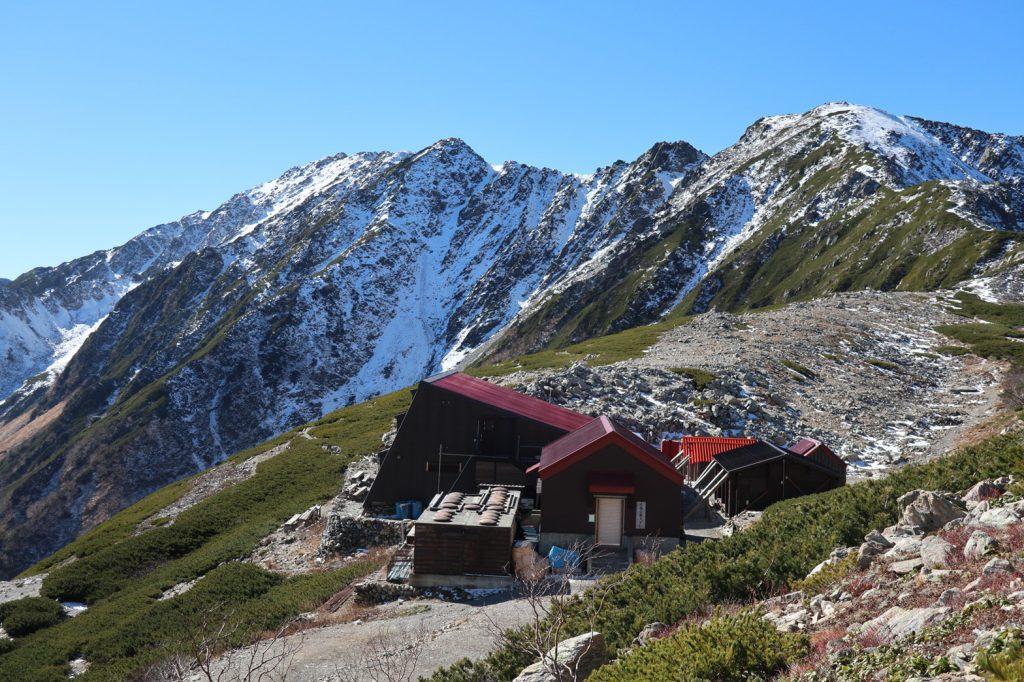 アルプスぽく写った山荘🏔️✨