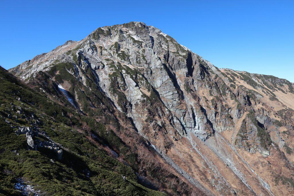 いつもと違う角度から撮った北岳🏔️✨
