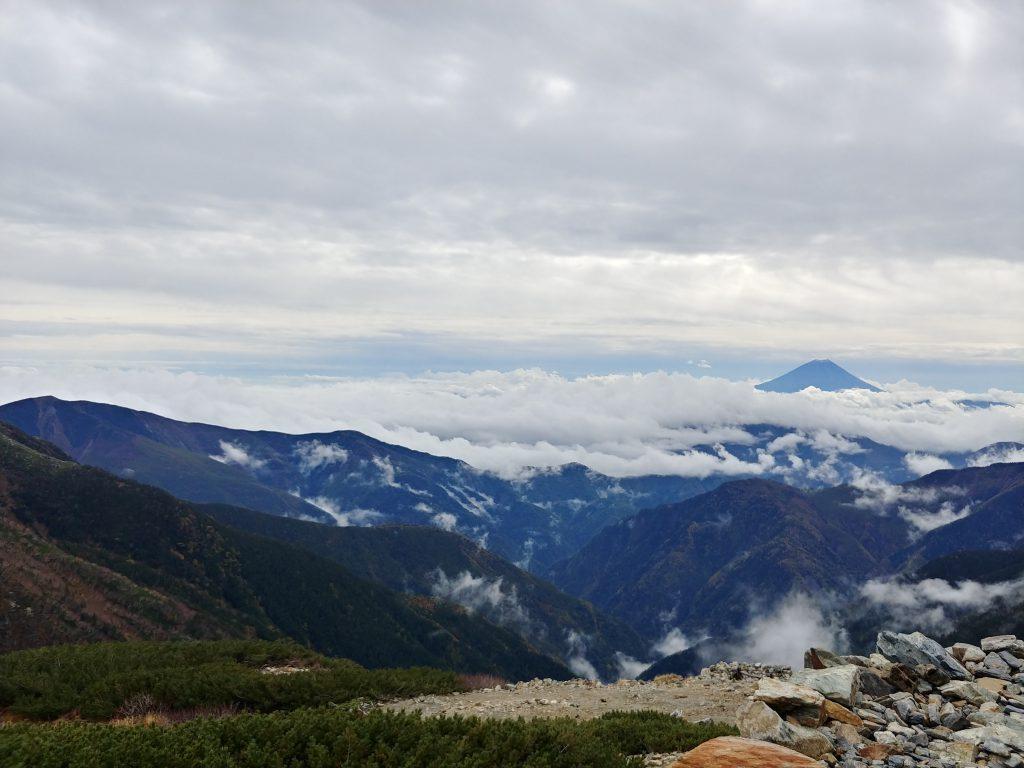 今日の富士山🗻✨ 雪がついてるような、、、?
