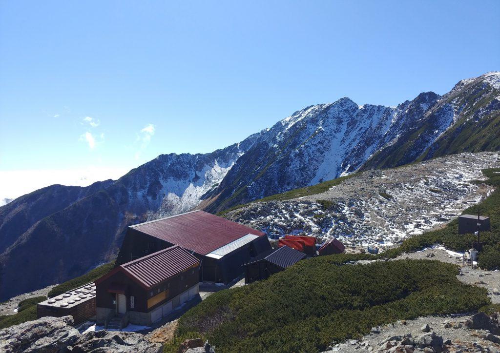 ポカポカで山荘まわりの雪が消えました☃️✨