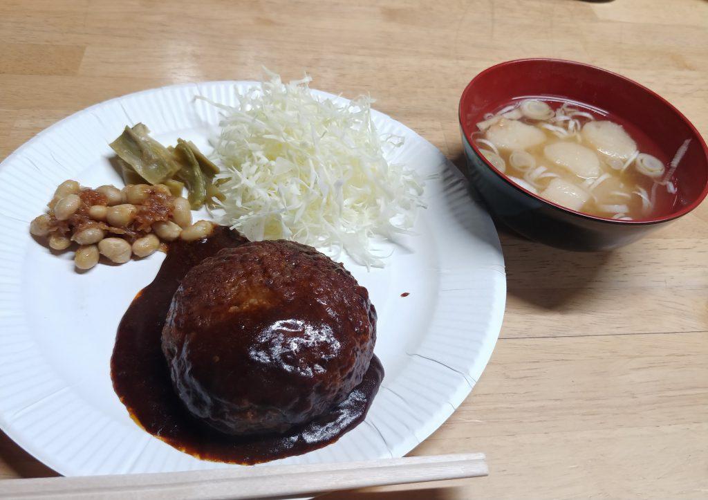 紙皿で夕飯🍴✨&割り箸✨